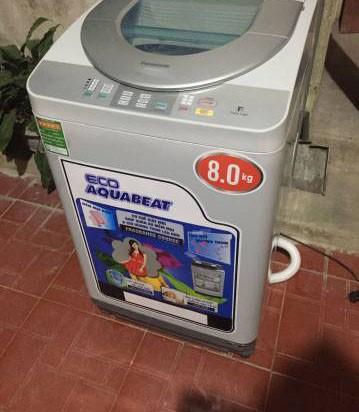 Thanh lý Máy giặt panasonic 8kg nguyên bản 100%